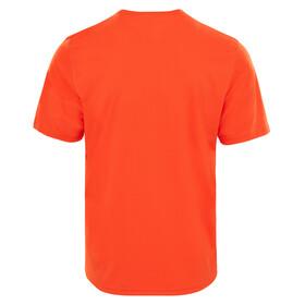 The North Face Flex t-shirt Heren oranje